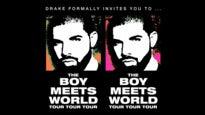 DRAKE: The Boy Meets World Tour - Platinum Tickets