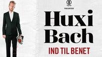 Plakat for koncerten Huxi Bach - Ind Til Benet