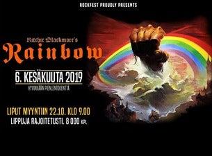 RITCHIE BLACKMORE'S RAINBOW BUSSIKULJETUS TORSTAI HYVINKÄÄLTÄ