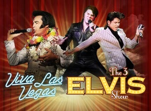 Viva Las Vegas - The 3 Elvis Show