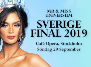 Mr & Miss Universe Sweden Final 2019