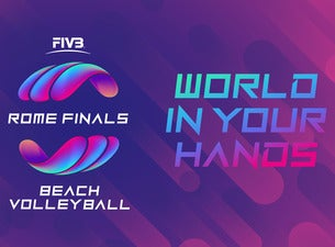 FIVB Beach Volleyball Rome Finals 2019