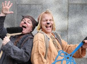 Oulun teatteri Maukan ja Väykän paras maailmankiertue