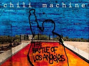 Chili Maschine (Rage Against the Machine & Red Hot Chili Peppers)