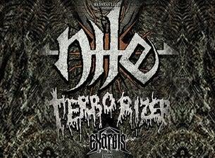 Nile + Terrorizer + Exarsis
