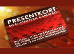 PRESENTKORT - SCALATEATERN