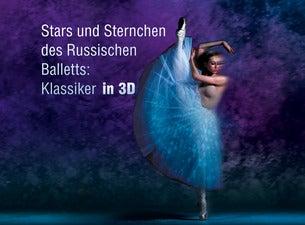 Stars und Sternchen des Russischen Balletts: Klassiker in 3D