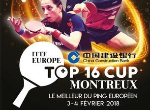 China Construction Bank ITTF Europe Top 16 Cup