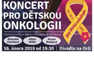 Koncert pro dětskou onkologii