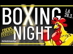 Boxing Night Cocks Areena