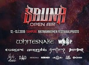 Sauna Open Air Tampere / 2 PÄIVÄN VIP