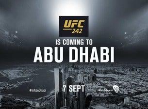 UFC 242 Abu Dhabi