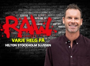 RAW comedy club med bl. a. Hasse Brontén