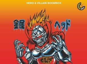 Hero& Villain boombox: CZARFACE / US