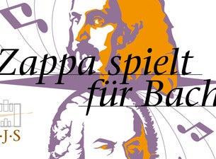 Zappa spielt für Bach