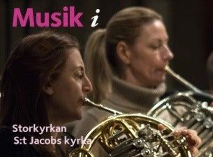 Musik i Storkyrkan & S:t Jacobs kyrka