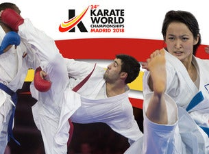 Resultado de imagen de campeonato del mundo karate 2018