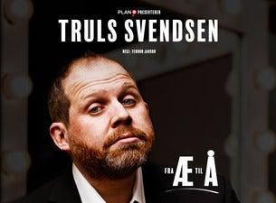 Truls Svendsen – Fra Æ til Å