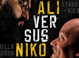 Ali versus Niko -stand up -kiertue