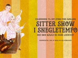 Sitter Show i snegletempo