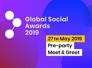 Pre-party Meet & Greet Global Social Awards