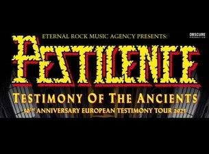 Pestilence Testimony 30th Anniversary tour