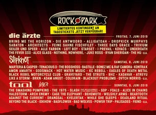 Rock im Park 07.-09.06.2019 | Weekend Festival Ticket General Camping