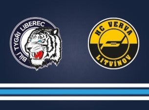 Bílí Tygři Liberc - HC Verva Litvínov
