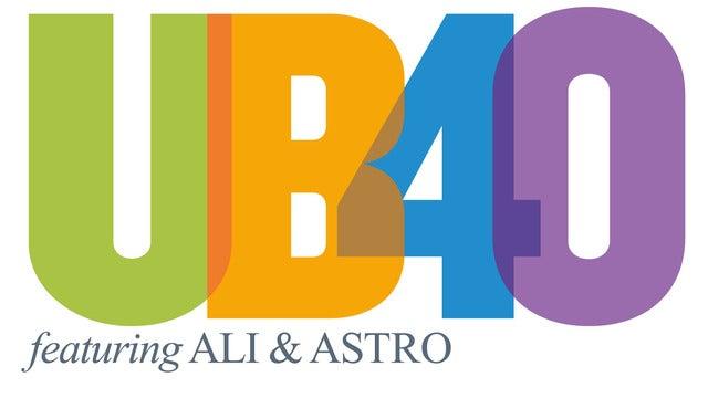 Ub40 Featuring Ali Campbell & Astro