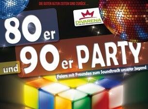 Die große 80er und 90er Party in der Divarena