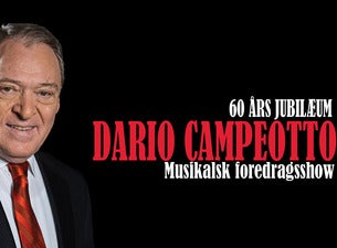 Dario Campeotto - Musikalsk foredragsshow