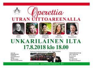 Operettia Areenalla - Unkarilainen ilta