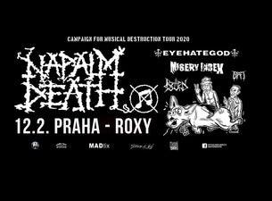 Napalm Death, Eyehategod, Misery Index, Rotten Sound, Bat