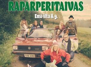 Suomirockmusikaali: Raparperitaivas - Leevi & Leavings, Juice, Kirka