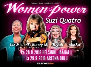 Women Power- Suzi Quatro, Toyah, Liz Mitchell & Muska