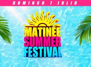 Matinee Summer Festival 2019