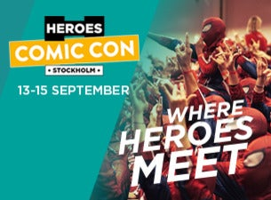 Comic Con Stockholm 2019