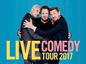 Live Comedy Tour 2017 - Ingen Panik! - Troels Lyby, Nicolaj Kopernikus og Anders W. Berthelsen