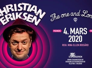-FLYTTES- Christian Eriksen: The one and Lonely