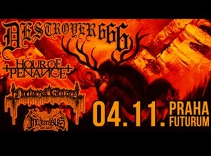 Destroyer 666, Hour of Penance, Nocturnal Graves, Inconcessus Lux Lucis