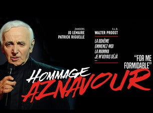 Charles Aznavour Hommage