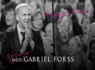 Konsert med Gabriel Forss kör Happy Voices, med gäst Niklas Strömstedt