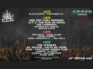 NOS Alive 2021, 7.-10. Juli 2021 | Tickets bestellen in DE