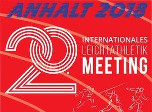 Anhalt 2018 - 20. Internationales Leichtathletik-Meeting
