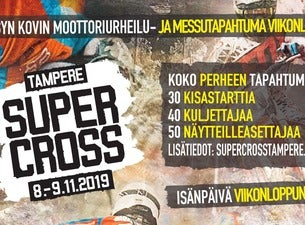 TAMPERE SUPERCROSS 2019 + OFFROAD EXPO