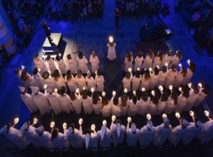 Luciakonsert på Nordiska museet med Adolf Fredriks musikklasser