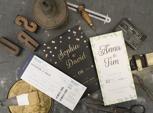 Hochzeits-Drucksachen