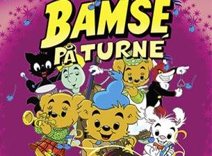 Bamses sang och dansforestallning