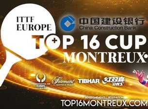 ITTF Europe Top 16 Montreux