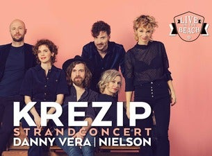 Strandconcert: KREZIP - LIVE on the BEACH